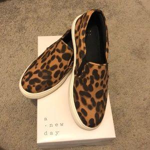 Cheetah Slip-on Sneakers